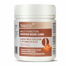 Biostar 葆星 多功效骨骼养护 液体乳钙+维生素D3K2 180粒