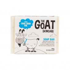 The Goat Skincare 山羊奶皂纯手工皂孕妇婴儿敏感皮肤适用润肤洁面皂 奇亚子油 100g