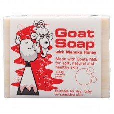 Goat Soap 麦卢卡蜂蜜山羊奶皂手工皂100g