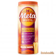 Metamucil美达施膳食纤维粉香橙味72次 425g