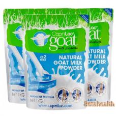 【新西兰直邮】CapriLac Goat milk 羊奶粉1kg 6袋包邮