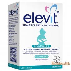 Elevit爱乐维哺乳期母乳喂养复合营养素维生素60粒