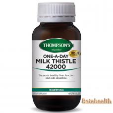 Thompson's 汤普森奶蓟草胶囊 42000  60粒