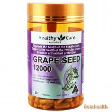 Healthy Care 葡萄籽12000含量300粒