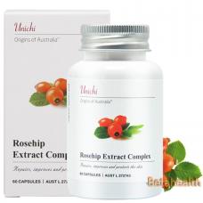 Unichi 玫瑰果精华美白胶囊 提升肤色降低黑色素 60粒