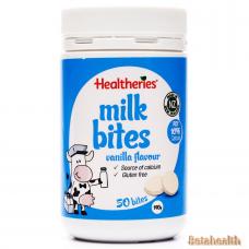 Healtheries贺寿利牛奶片 香草味 50片