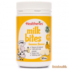 Healtheries贺寿利牛奶片 香蕉味 50片