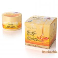 Parrs 帕氏麦卢卡蜂蜜80+系列 平衡晚霜 混合性/油性肤质 100g