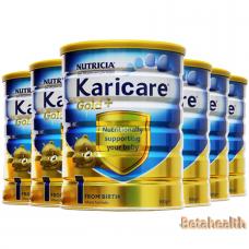 【新西兰直邮】Karicare可瑞康金装婴幼儿奶粉1段6罐包邮 900g