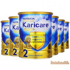 【新西兰直邮】Karicare可瑞康金装婴幼儿奶粉2段6罐包邮 900g
