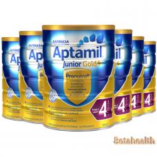 【新西兰直邮】Aptamil爱他美金装婴幼儿奶粉4段6罐包邮 900g