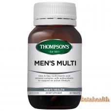 Thompson's 汤普森男性综合维生素 60片